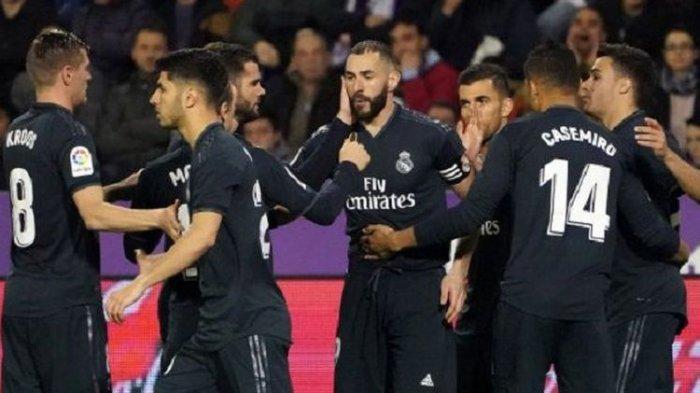 Hasil Liga Spanyol, Real Madrid Bertahan di Posisi 3 Usai Tekuk Tuan Rumah Real Valladolid