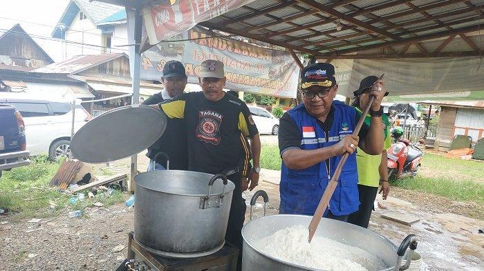 Dinsos Kalsel, Martapura dan Banjarbaru Buka 2 Dapur Umum di Cempaka, Siapkan 1000 Porsi Nasi