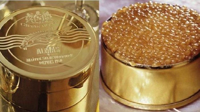 Ini Lho Kaviar Termahal di Dunia