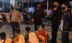 Empat Remaja Pesta Miras Memalak Pengunjung Taman Yos Soedarso Palangkaraya Diciduk Polisi
