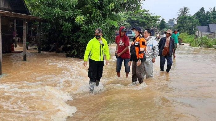 Kawasan Cempaka Kota Banjarbaru Kembali Banjir, Ini Lokasi yang Terdampak