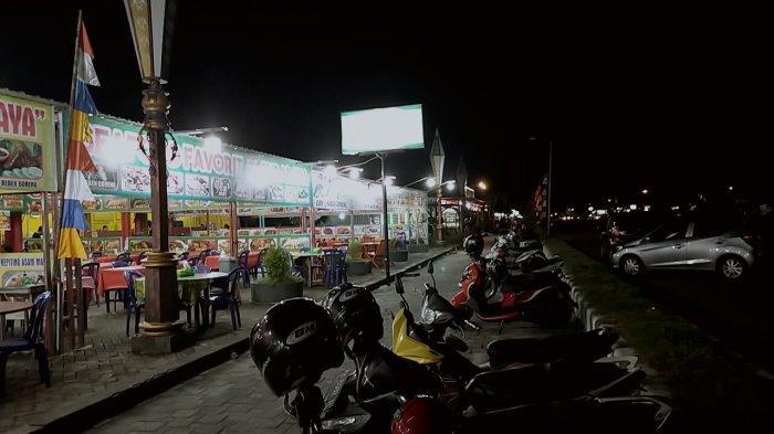 Wisata Kuliner Yos Soedarso Palangkaraya Kalteng Dipadati Pengunjung