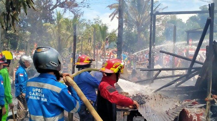 Kebakaran di Kabupaten Barito Timur, Tabalong Kirim Bala Bantuan Damkar