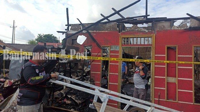 Kebakaran Kalsel, Api Mengamuk di Kelurahan Pelambuan, 79 Jiwa Terdampak