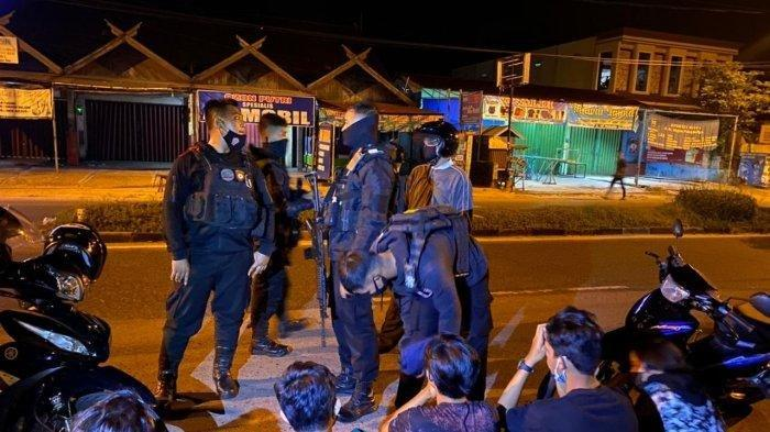 Aksi Kebut-kebutan 22 Remaja di Lapangan Murjani Palangkaraya Berakhir di Kantor Polisi