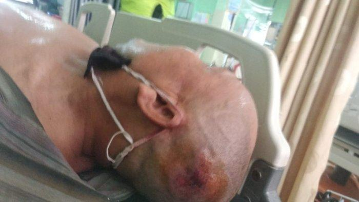 Pengendara Luka-luka di Kepala, Kecelakaan Mobil Avanza VS Sepeda Motor di Sampit Kalteng