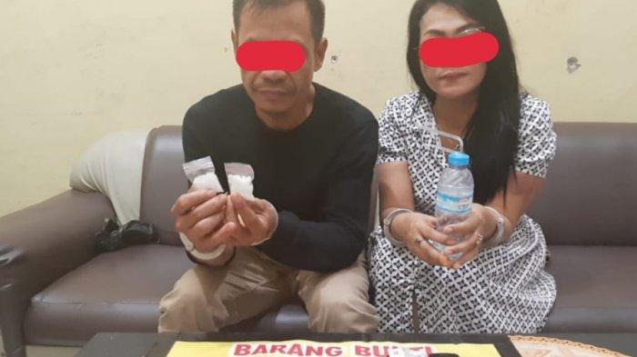Edarkan Narkoba di Gunungmas Kalteng, 2 Warga Kalsel Ditangkap, Ketahuan Buang Sesuatu di Jalan