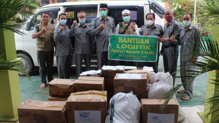 KKG PAI Kapuas Galang Bantuan untuk Korban Banjir di Kalsel