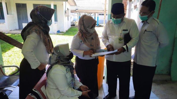 Calon Jemaah Haji Lansia di Kabupaten Kapuas Jalani Vaksinasi Covid-19 Tahap Dua