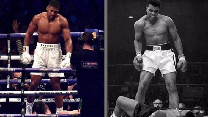Pertarungan Tinju Dahsyat Anthony Joshua yang Disebut Sama dengan Muhammad Ali