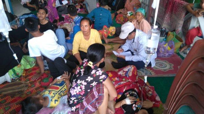 BREAKING NEWS : 40 Warga Mantangai Kapuas Kalteng Keracunan Massal, Diduga Makanan Hajatan