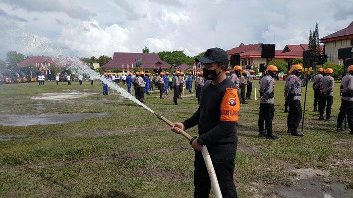 BPBD Kota Palangkaraya Gencarkan Patroli Deteksi Dini Lokasi Rawan Karhutla di Palangkaraya