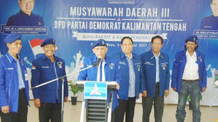 Koyem Pimpin Partai Demokrat Kalimantan Tengah