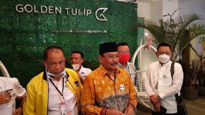 Paman BirinMu Unggul, Ketua Bappilu Golkar Kalsel Minta Pendukung Tak Terbawa Euforia