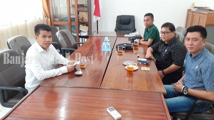 Kunjungi DPRD Kapuas, Ketua DPRD HSU Almien Ashar Safari Belajar dari Politisi Berpengalaman