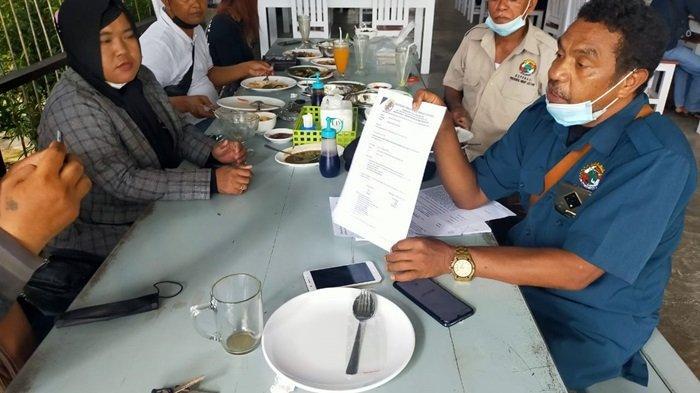 Ketua Koperasi PHL Laporkan Dua Warga Desa Jatiwaringin Kotim ke Polsek Parenggean