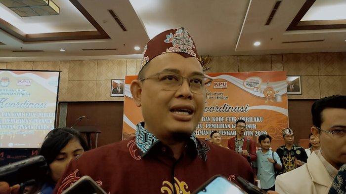 Ketua KPU Kalteng Imbau Paslon dan Tim Maksimalkan Kampanye Lewat Media Daring