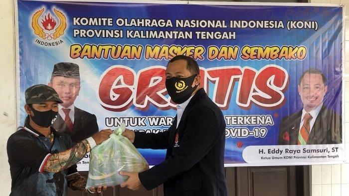 Ketua Umum KONI Kalteng Gelar Rapat Virtual Hadapi PON Tahun Depan