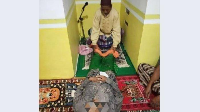 Malam-malam Jenazah Anggota Banser yang Meninggal Saat Jadi Imam Sholat Tarawih Dimakamkam