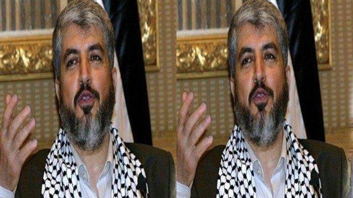 Profil Khaled Mashal, Pemimpin Hamas Palestina yang Terus Diburu Pasukan Israel dan Pembunuh Bayaran