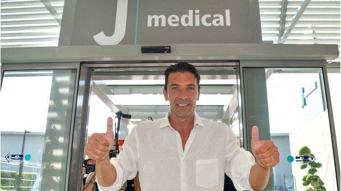 Liga Italia - Usai Jaga Gawang PSG, Gianluigi Buffon Kembali ke Klub Si Nyonya Tua, Juventus