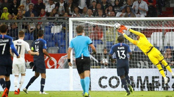 Hasil Liga Negara Europa - Sang Juara Dunia, Prancis Bermain Imbang Tanpa Gol Kontra Jerman