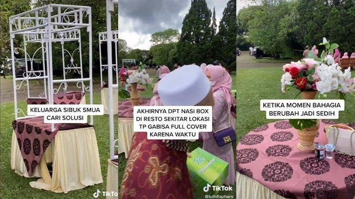 Kisah Pengantin Ditipu Vendor Katering Viral, Para Tamu Terpaksa Diberi Nasi Box