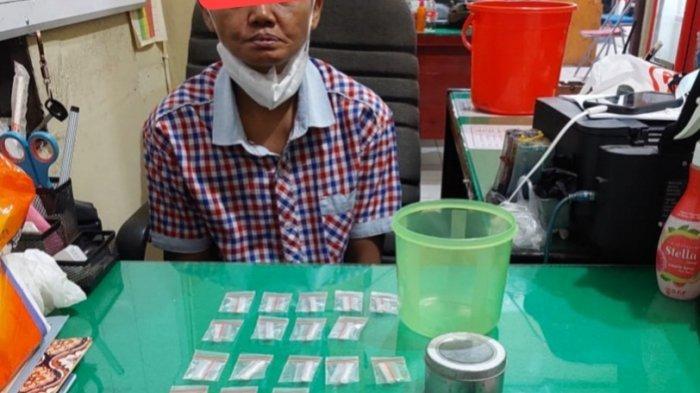Narkoba di Kotim, 27 Bungkus Sabu Seberat 8,32 Gram Bikin Kiyah Ditangkap Polisi