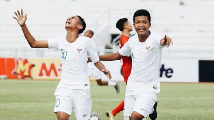 Hasil Timnas U 15, Timnas U-15 Indonesia vs Vietnam AFF U15 Championship 2019, Skor Kacamata