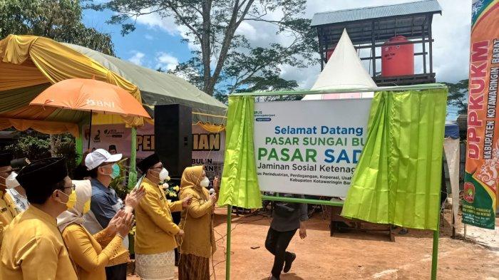 Pasar di Lahan Hibah Korindo Jadi Kado Ulang Tahun Kotawaringin Barat