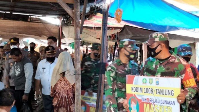 Tujuh Warga Terjaring Operasi Yustisi Protokol Kesehatan di Tabalong Kalsel