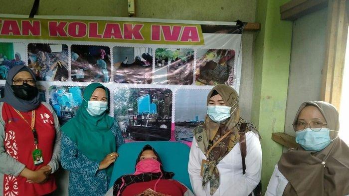 Kecamatan Kapuas Murung Gelar Pemeriksaan Kolaborasi IVA dan Pelayanan KB Gabungan Dua Desa