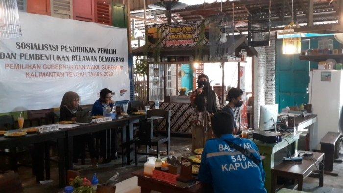 KPU Kapuas Sosialisasikan Pendidikan Pemilih dan Pembentukan Relawan Demokrasi