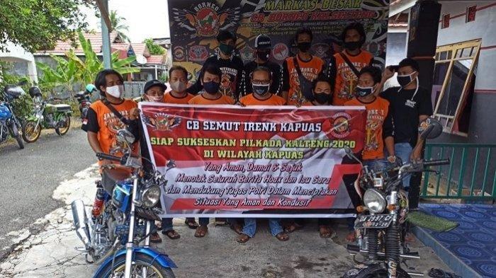 Komunitas CB Semut Ireng Kapuas Gelar Deklarasi, Dukung Pilkada Aman Damai dan Sejuk,