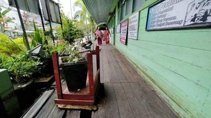 Diterjang Banjir, Bangunan SDN Sungai Bilu 3 Banjarmasin Alami Kerusakan