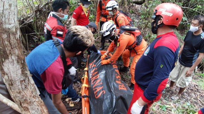 Yongki Ditemukan Tim Pencari Tewas Membusuk di Lembah Bukit Tangkiling Palangkaraya