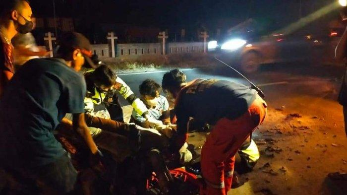 Pengendara Motor Tewas Kecelakaan di Barimba Kapuas, Diduga Korban Tabrak Lari