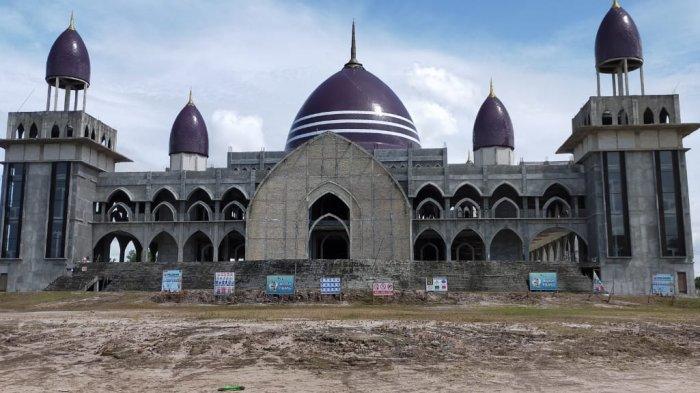 Kaltengpedia Profil Masjid Kubah Kecubung Palangkaraya