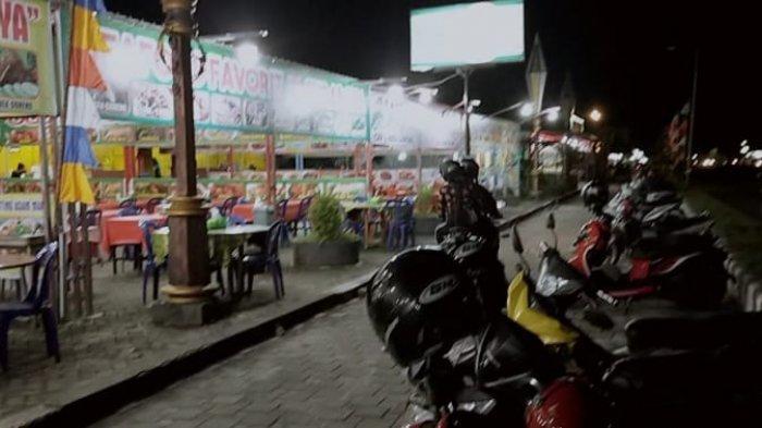 Wisata Kalteng, Kawasan Wisata Kuliner Jalan Yos Sudarso Dekat Hutan Milik Universitas Palangkaraya