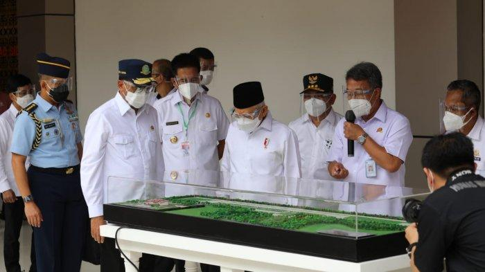 Wapres Maruf Amin Resmikan Bandara HM Sidik, Perekonomian Masyarakat Kalteng Diharap Makin Meningkat