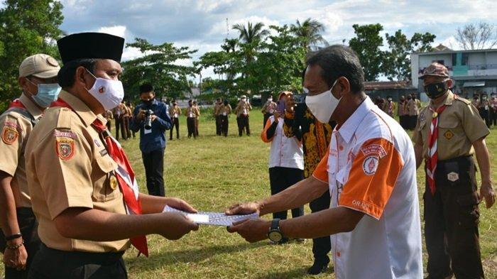 Kwarcab Kabupaten Kapuas Gelar Jota dan Joti Pramuka Pererat Persaudaraan