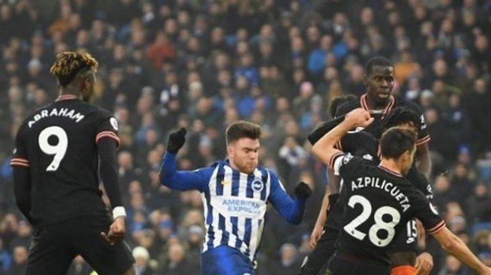 Hasil Brighton vs Chelsea Liga Inggris, Gol Salto Batalkan 3 Poin The blues
