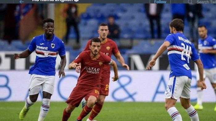 AS Roma Gagal ke Peringkat 4 Besar Usai Kontra Sampdoria, Berikut Hasil Laga Minggu Liga Italia