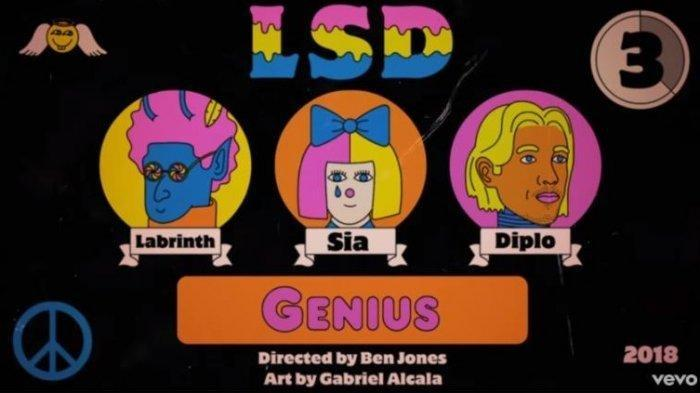 Link Download Lagu Genius dari Labrinth, Sia dan DJ Diplo Lengkap Video Klip dan Lirik