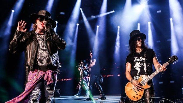 Grup Band Legendaris Guns N Roses Kembali Rilis Album Baru Setelah 13 Tahun, Ini Judulnya