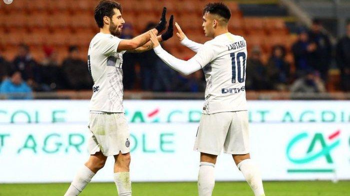 Hasil Coppa Italia - Inter Milan dan Napoli Masuk Perempat Final, Berikut Hasil Lengkapnya