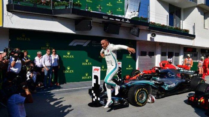 Hamilton Kokoh di Puncak Klasemen Sementara Pebalap F1 2018