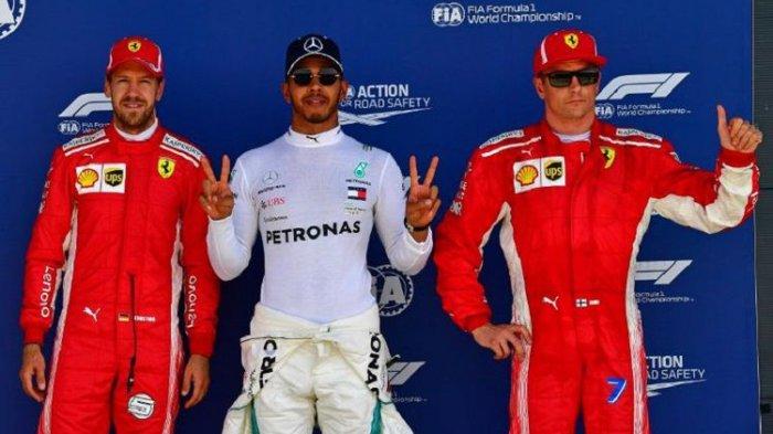Hamilton Sebut Persaingan Dibalapan Formula 1 Antara Dirinya dengan Vettel Makin Menegangkan