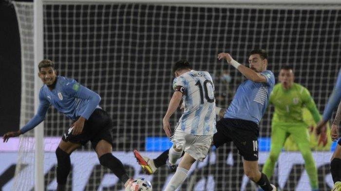 Hasil Argentina vs Uruguay Berakhir 3-0, Messi dkk Kejar Brazil di Klasemen Kualifikasi Piala Dunia