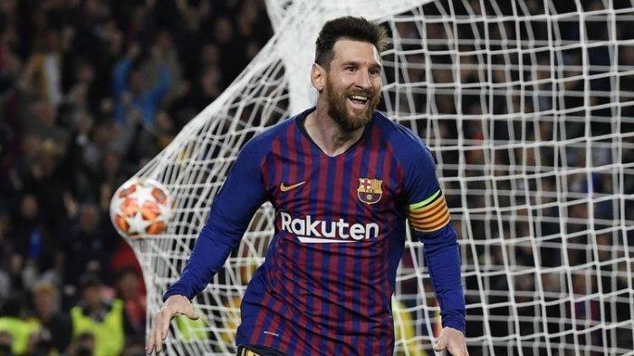 Lionel Messi Diikuti Robert Lewandowski Pencetak Gol Terbanyak di Liga Champions 2018-2019